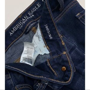 American Eagle Outfitters Jeans - AEO Jegging Super Super Stretch x4 dark wash sz 4